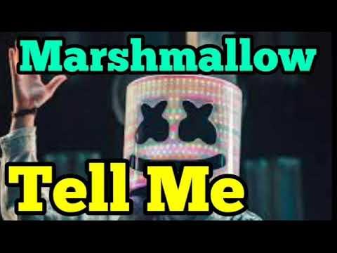 Tell Me - Marshmello Song Audio Lyric video Remix Marshmello Tell me