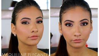 Maquillaje para prom, fiesta o evento para piel morena. / Carolina Ortiz