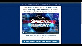 Copy My Email System (BOGUS) Scam? 2019 Honest Review aka Instant Email Empire