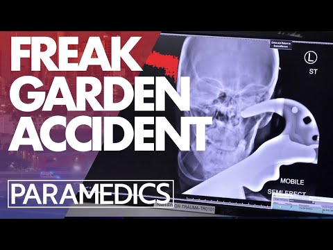 Man Treated After Freak Gardening Accident | Paramedics 2020