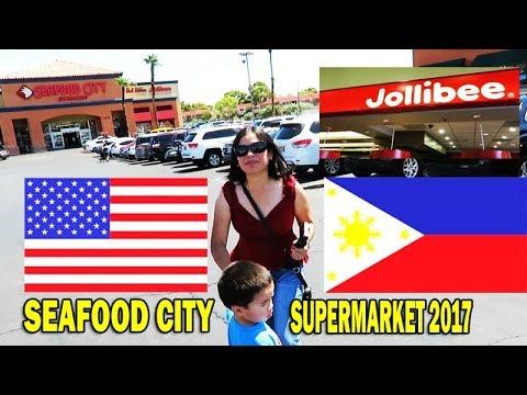 Seafood City Supermarket, Irvine California &  Las Vegas Nevada. Filipina & American Grocery Time.