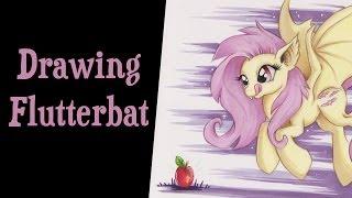 flutterbat drawing lesson