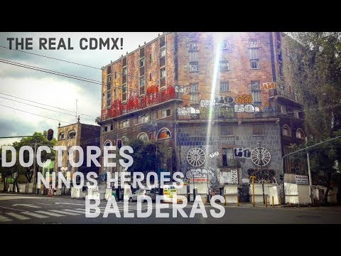 The REAL MEXICO CITY | MEXICO on a BUDGET | BALDERAS, NINOS HEROES & DOCTORES
