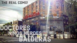 The REAL MEXICO CITY | MEXICO on a BUDGET | BALDERAS, NINOS HEROES & DOCTORES