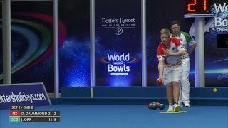 Just. 2019 World Indoor Bowls Championships: Day 16 Session 3