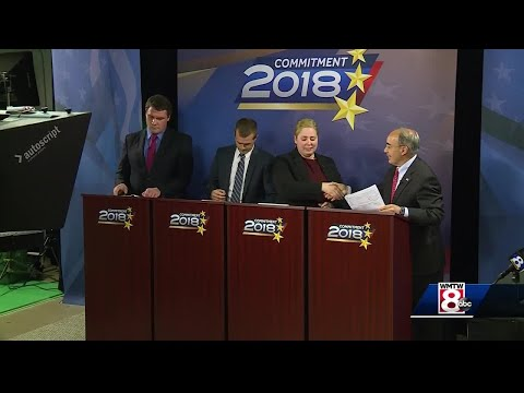 Poliquin and Golden clash during 2nd Congressional District debate