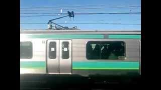 Repeat youtube video 東京メトロ千代田線16000系 VS 常磐快速線E231系 併走バトル