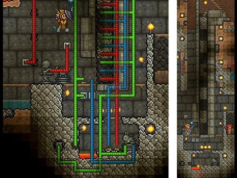 6 Phase, Bunny Powered, General Purpose Elevator - Terraria 1.2.4