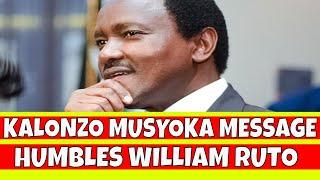 Kalonzo Musyoka Humbles William Ruto over Uhuru Kenyatta and Raila Odinga