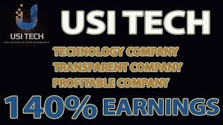 USI Tech Review - Technology, Transparent and Profitable Company! ( Tagalog )
