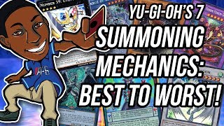 WORST to BEST 7 Yu-Gi-Oh Summoning Mechanics!