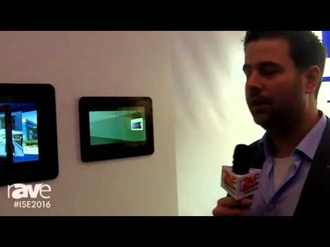 ISE 2016: PureDomotica Showcases Range of In-Wall Touch Screens
