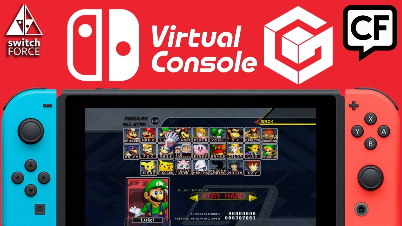 Your Perfect E3 Switch Virtual Console Reveal Smash Bros