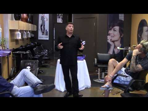 Z One Concept USA No Inhibition Age Renew Anti Aging Hair Treatment Featuring David Gulino Pt  1