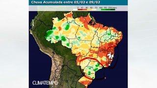Chuva no BR par 15 dias (até 9/3/17)