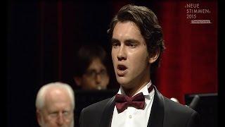 "NEUE STIMMEN 2015 - Semifinal: Igor Onishchenko sings ""Oh de' verd'anni miei"", Ernani, Verdi"