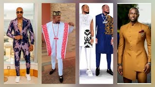 HOW TO DRESS,COMBINE AFRICAN FASHION FOR YOUNG MEN# LATEST AGBADA UNIQUE STYLISH OUTFITS FOR MEN