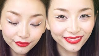 Spring 2014 Trend: Graphic White Eyeliner Thumbnail