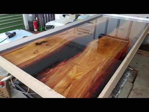River Table, Kunstharzt Tisch, Epoxy Tisch.
