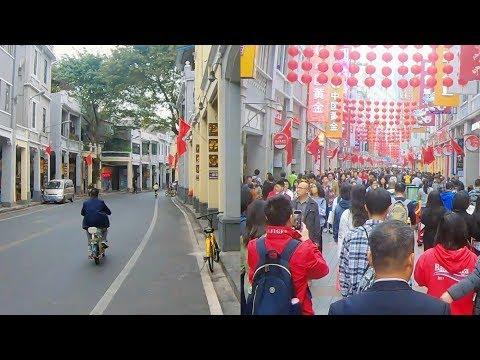 Shangxiajiu pedestrian street+Enning Lu, Guangzhou / 上下九步行街+恩寧路, 廣州 [4K 60FPS]
