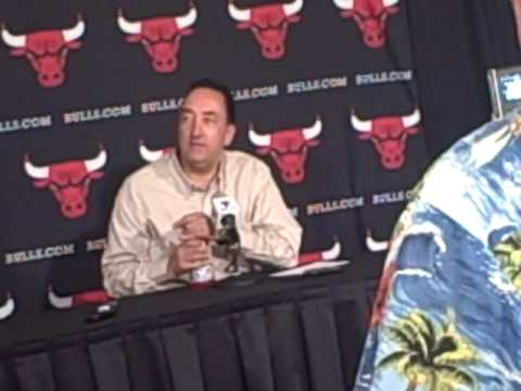 Chicago Bulls GM Gar Forman discusses 2010 draft