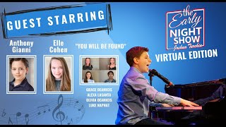 You Will Be Found cover by Joshua Turchin | The Early Night Show feat. Elle Cohen & Anthony Gianni
