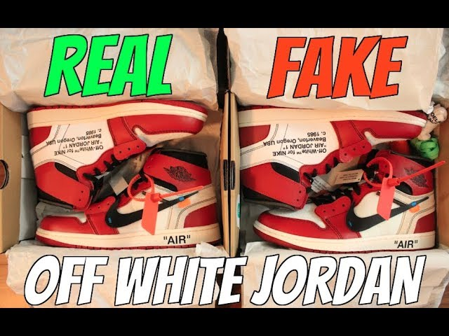 REAL VS FAKE: JORDAN 1 CHICAGO