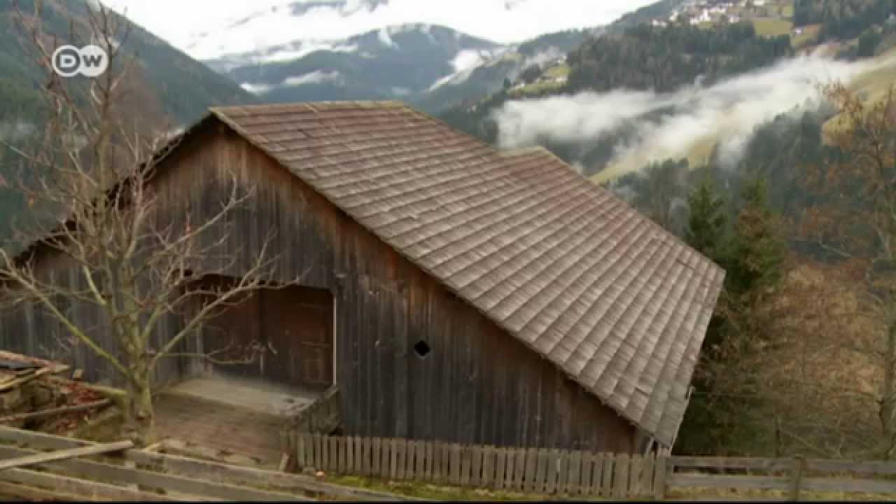 modernes bauernhaus in s dtirol euromaxx youtube. Black Bedroom Furniture Sets. Home Design Ideas