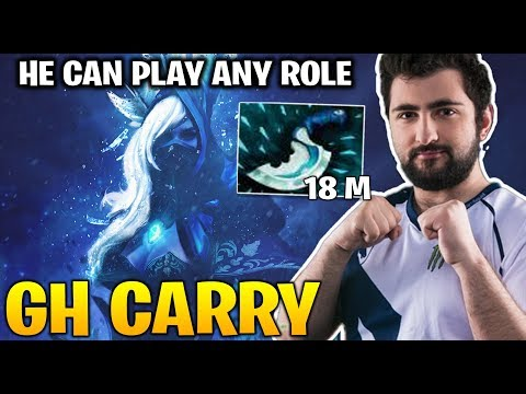 GH Plays Carry Drowranger Rushing Blink Dagger To Catch Enemies