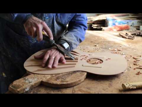 Documental de la construccin artesanal de las guitarras Francisco Bros.