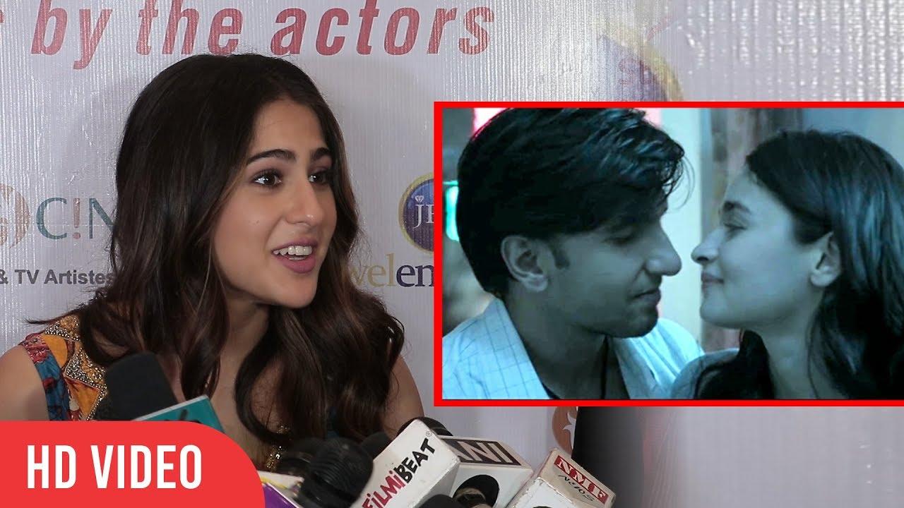 Sara Ali Khan Reaction On Watching GULLY BOY