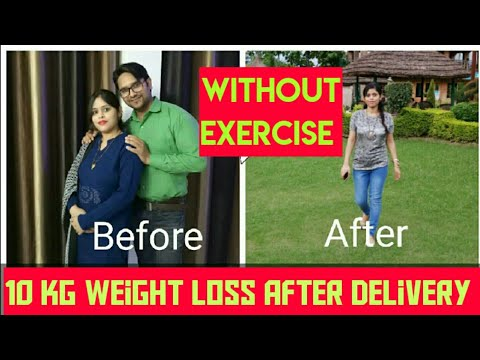 #Postpartum Weight Loss in Hindi |Weight loss After Pregnancy in hindi|Without Exercise, #weightloss
