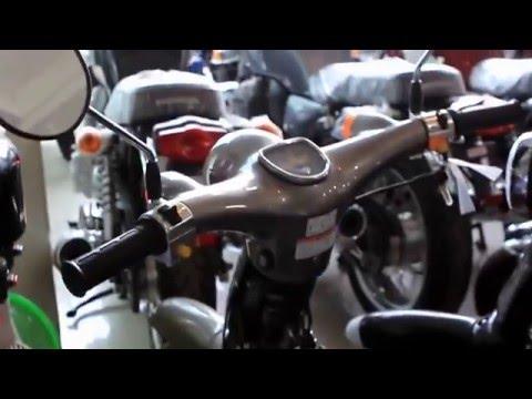 Cận cảnh Honda Little Cub 50cc, nhập Nhật Bản, giá trên 70 triệu đồng