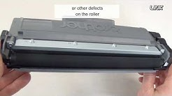 How to fix a Brother toner cartridge with quality problems