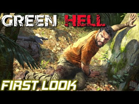 Amazon Jungle Survival | Green Hell | First Look Part 1