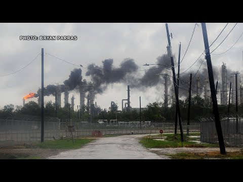 As Catastrophic Flooding Hits Houston, Fears Grow of Pollution from Oil Refineries & Superfund Sites