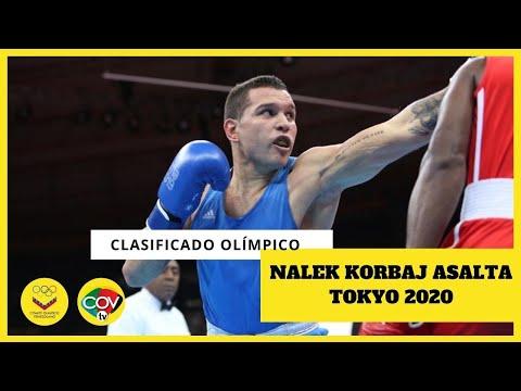 🔴🔴🔴NALEK KORBAJ inscribió su nombre en la cita olímpica! 🔴🔴🔴