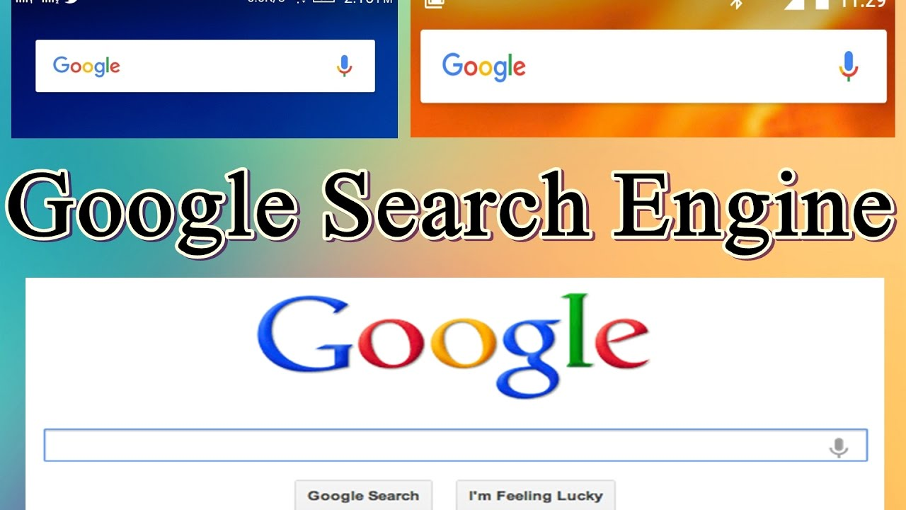 What are the search engines