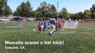 marcella scores a hat trick