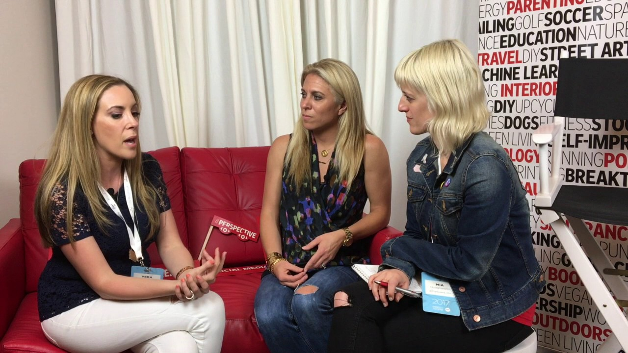 Mom 2.0 Summit Interview with Audrey McClelland and Vera Sweeney