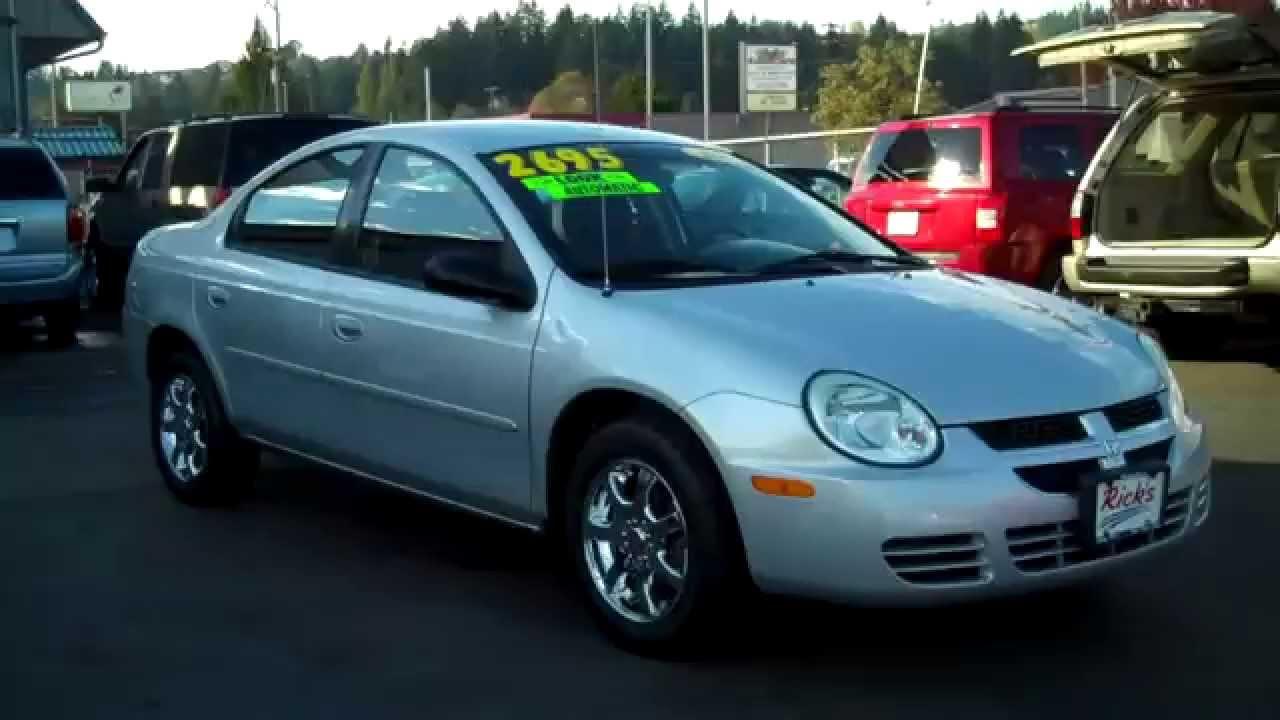 2005 Dodge Neon Sxt Sold