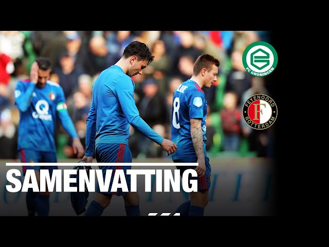 Samenvatting   FC Groningen - Feyenoord 2018-2019