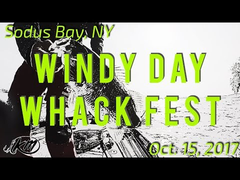 Sodus Bay, NY Bass Tournament: WINDY WHACK FEST