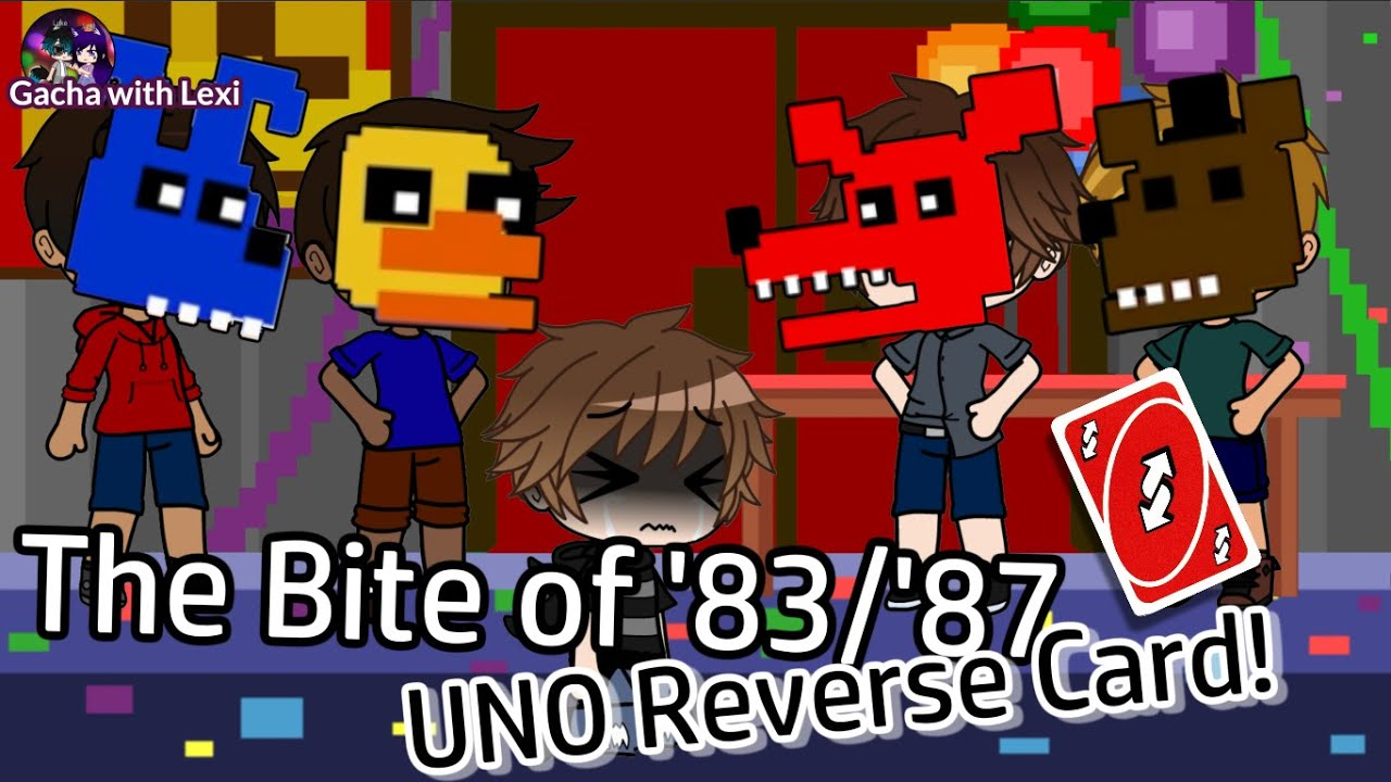C.C. uses UNO reverse card on Michael in Bite of '83/'87 // FNAF