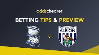Birmingham v West Brom - Betting Tips & Preview