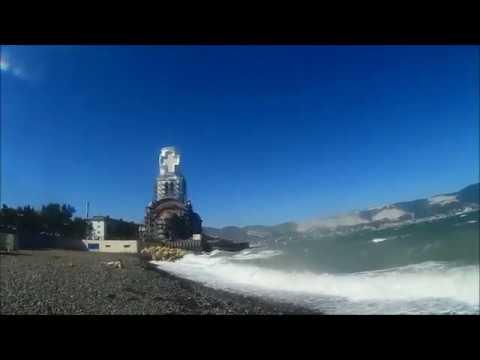 Норд-ост в Новороссийске 11.08.18 . Пляж Нептун.