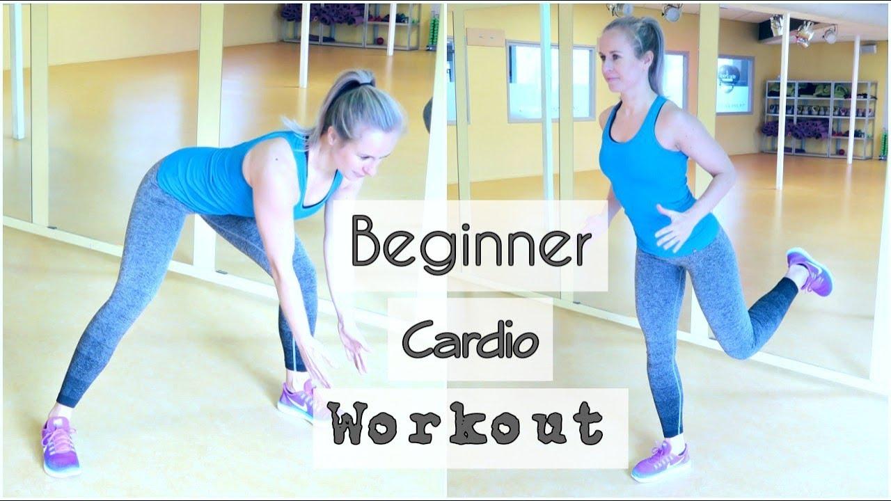 Iets Nieuws 30 min. Beginner Cardio Workout - Conditie en Afvallen - YouTube &IR61