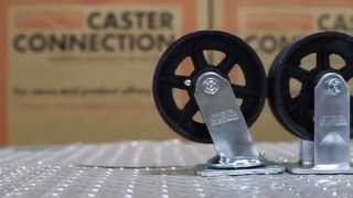 Cast Iron V-Groove Caster Wheels: Your Caster Connection