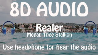 Megan Thee Stallion - Realer (8D AUDIO 🎵)