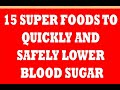 How To Control Diabetes Naturally - Best Diet to Lower Blood Sugar